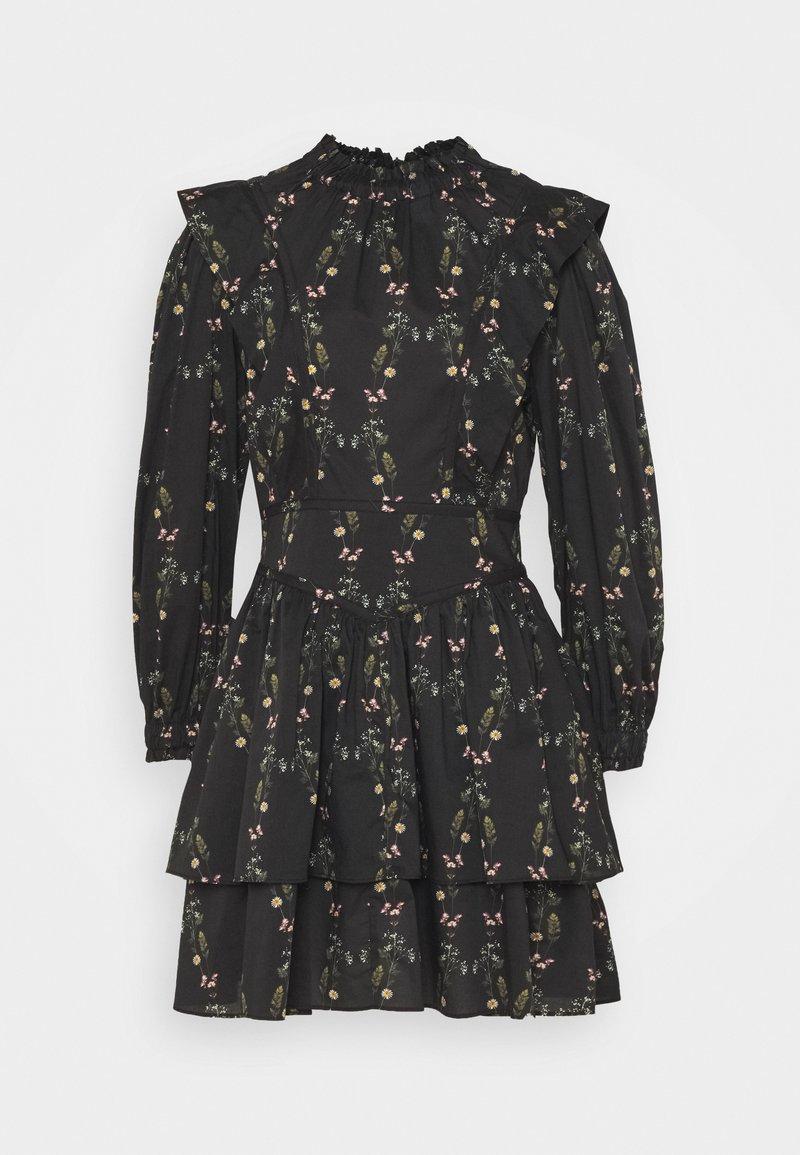 AllSaints - AISLYN VARANASI DRESS - Hverdagskjoler - black