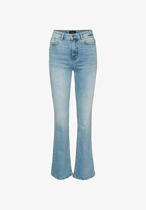 VMSIGA  - Bootcut jeans - light blue denim