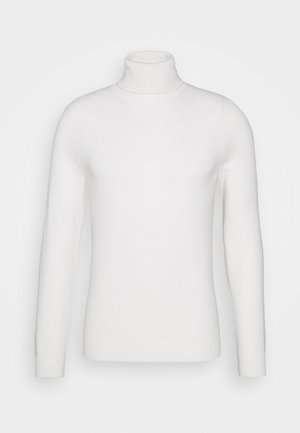 ROLLNECK - Jumper - pristine white