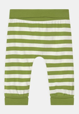 SJORS BABY UNISEX - Trousers - green stripes