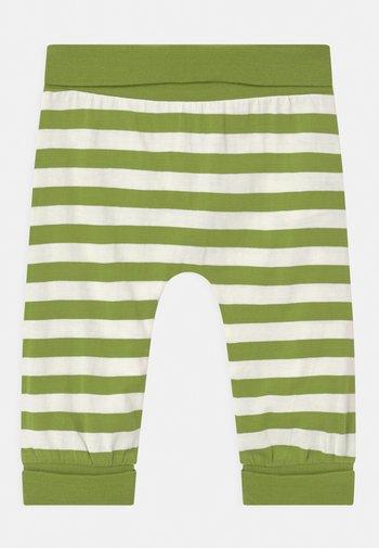 SJORS BABY UNISEX - Broek - green stripes