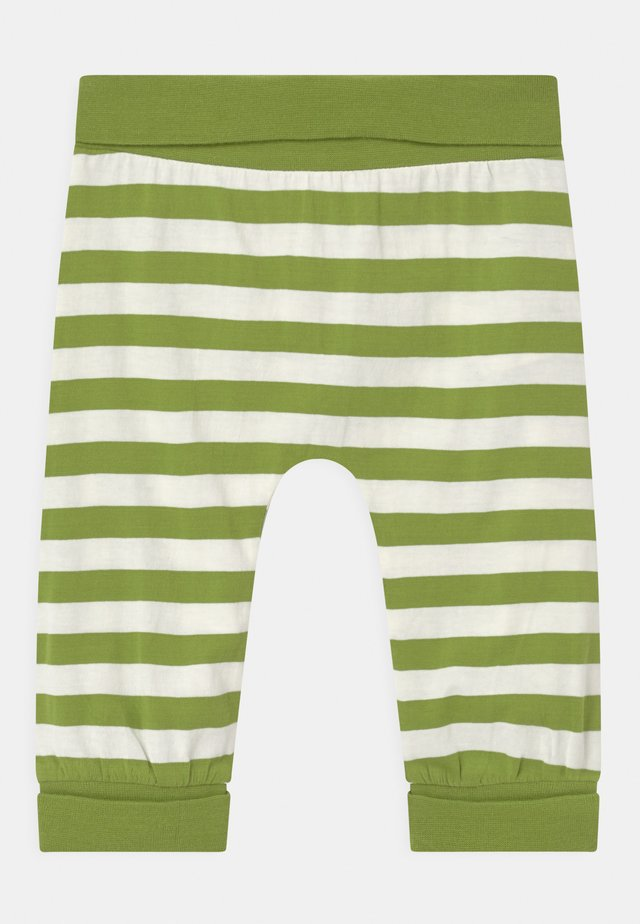 SJORS BABY UNISEX - Bukse - green stripes