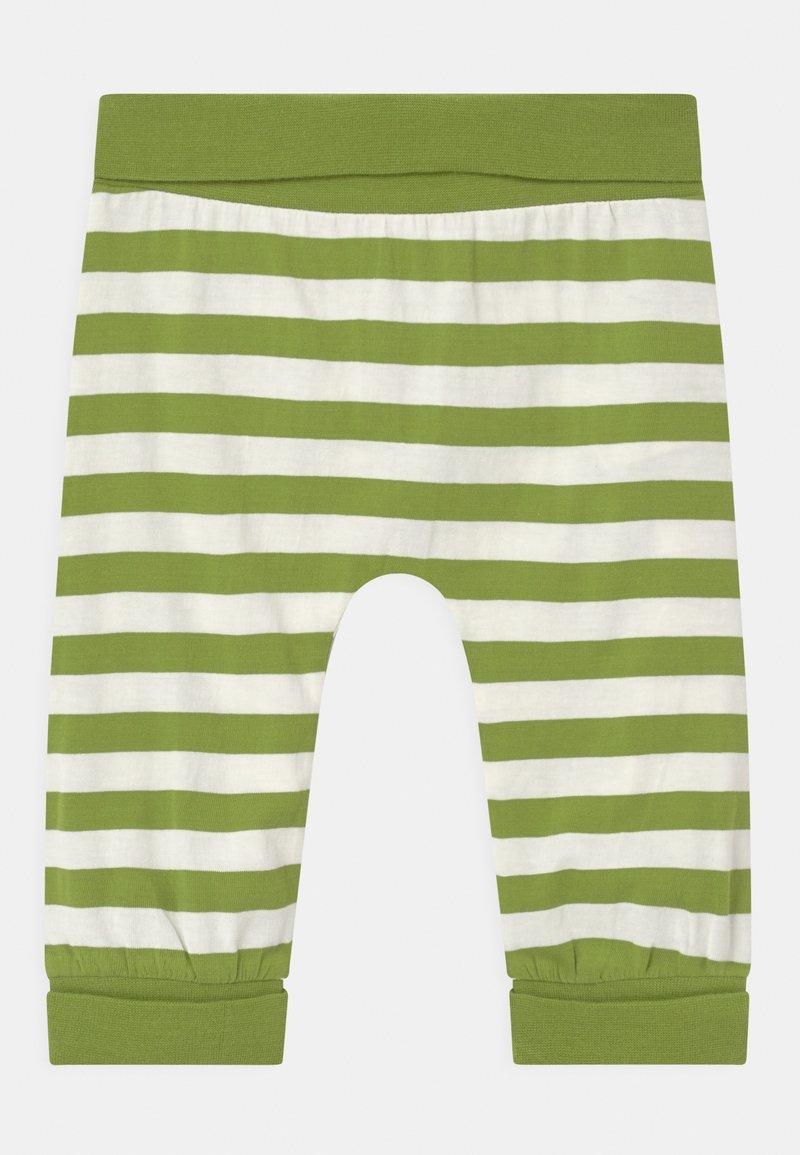 Sense Organics - SJORS BABY UNISEX - Trousers - green stripes