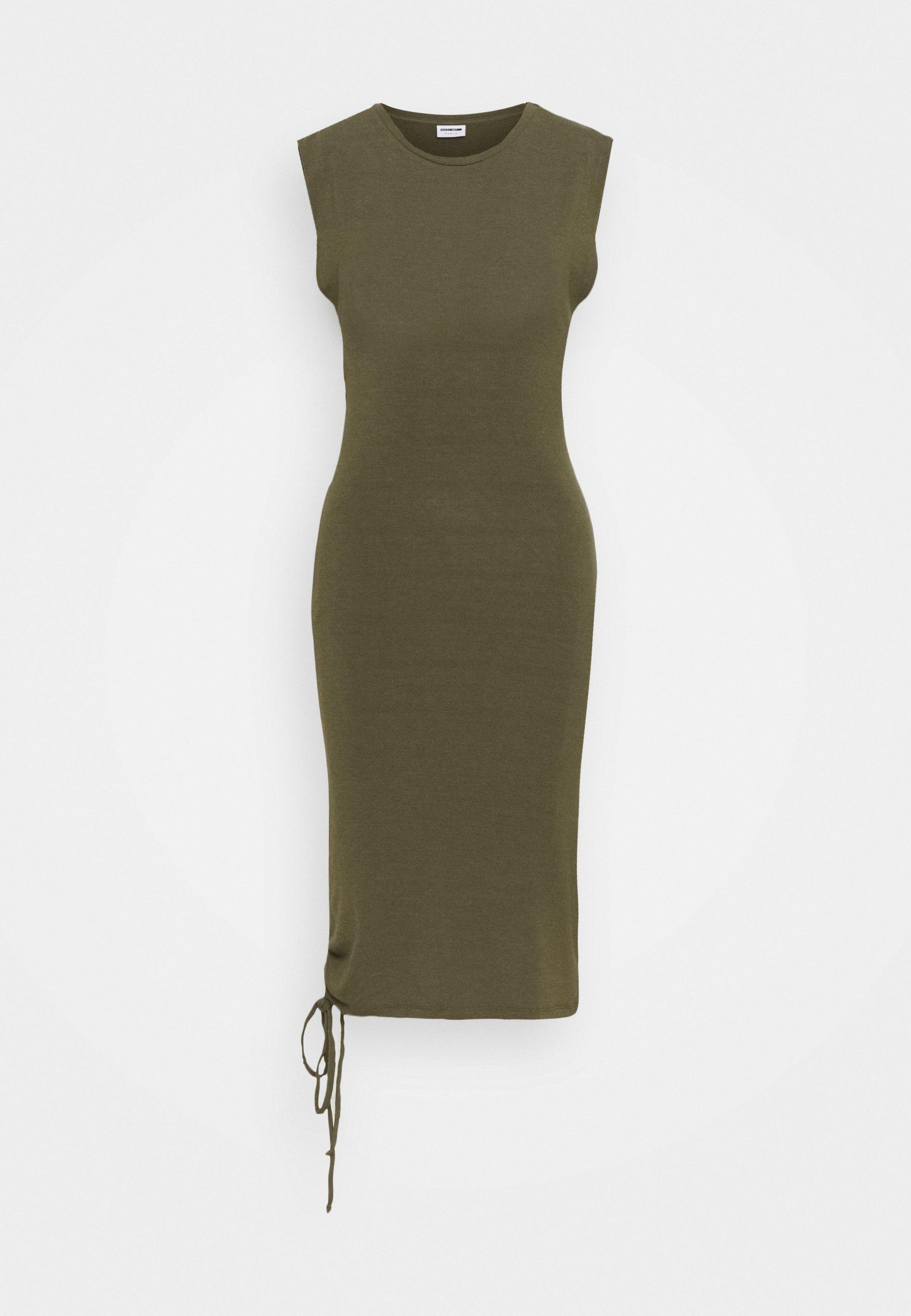 Women NMMULTO SHORT DRESS - Jersey dress