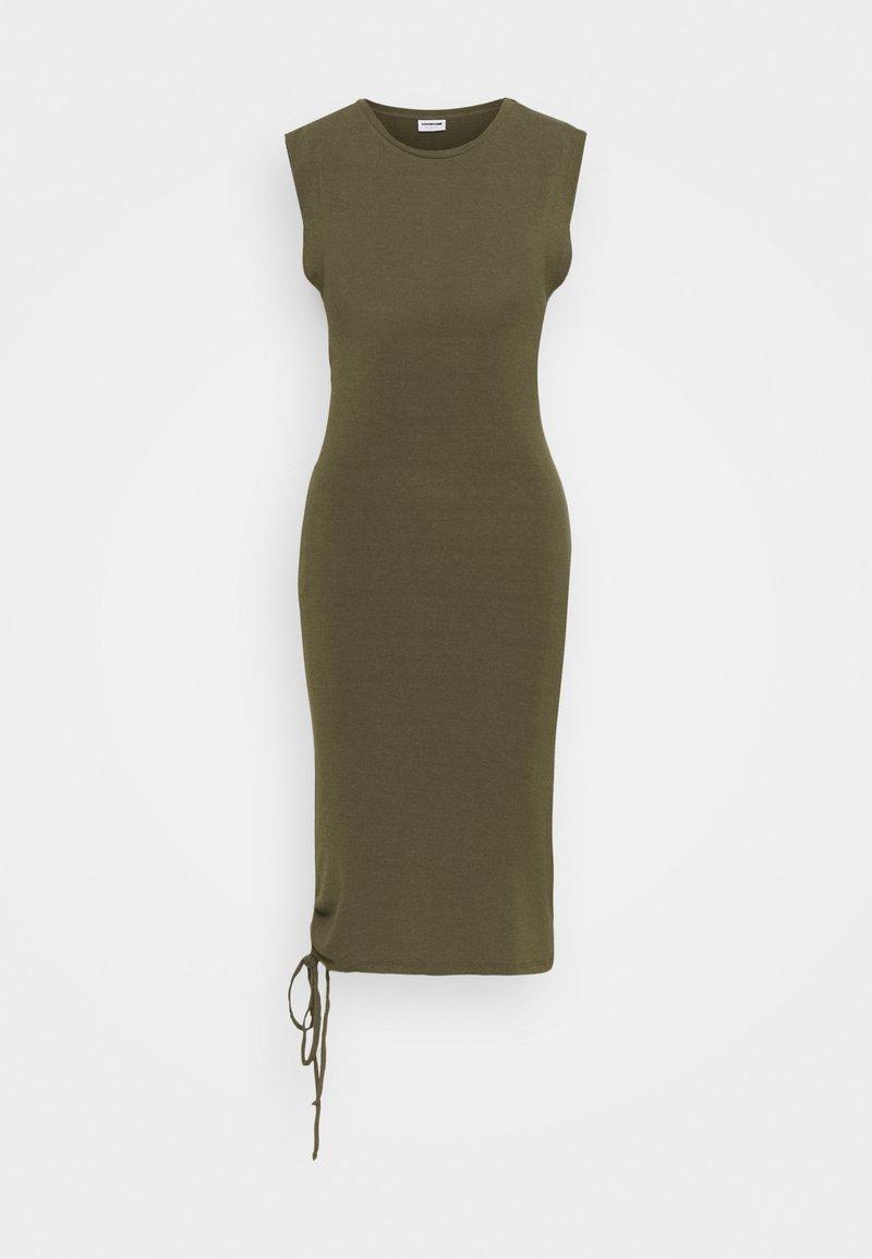 Noisy May Tall - NMMULTO SHORT DRESS - Sukienka z dżerseju - kalamata