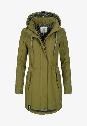 Regenjacke / wasserabweisende Jacke - grün