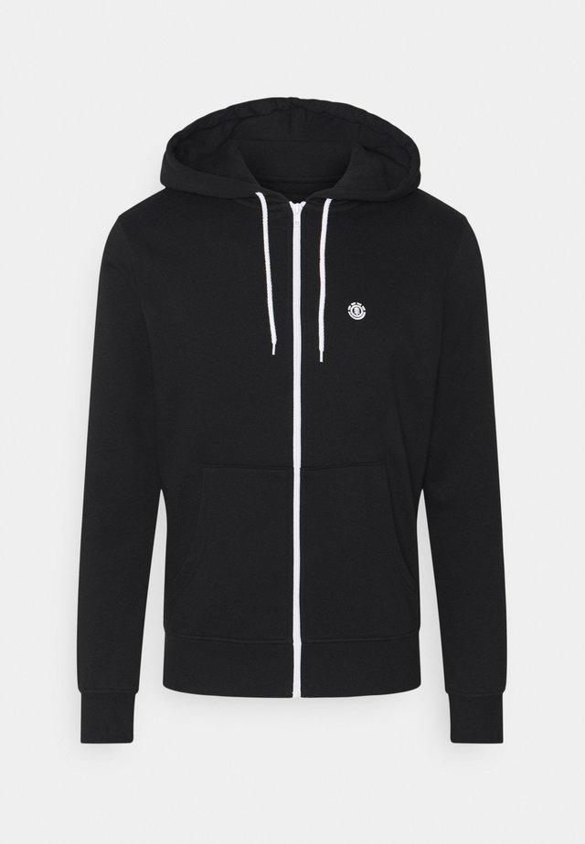 CORNELL CLASSIC - veste en sweat zippée - flint black