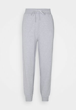 CUFF PANT - Tracksuit bottoms - light melange grey