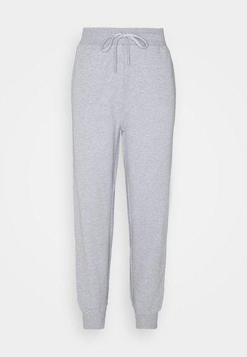 CUFF PANT - Tracksuit bottoms - light melange grey