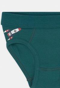 Schiesser - 2 PACK - Briefs - dark green/white - 3