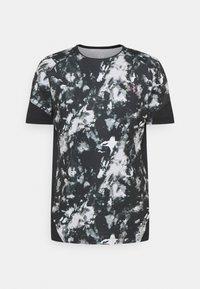 Under Armour - RUSH 2.0 PRINT - Print T-shirt - black - 0