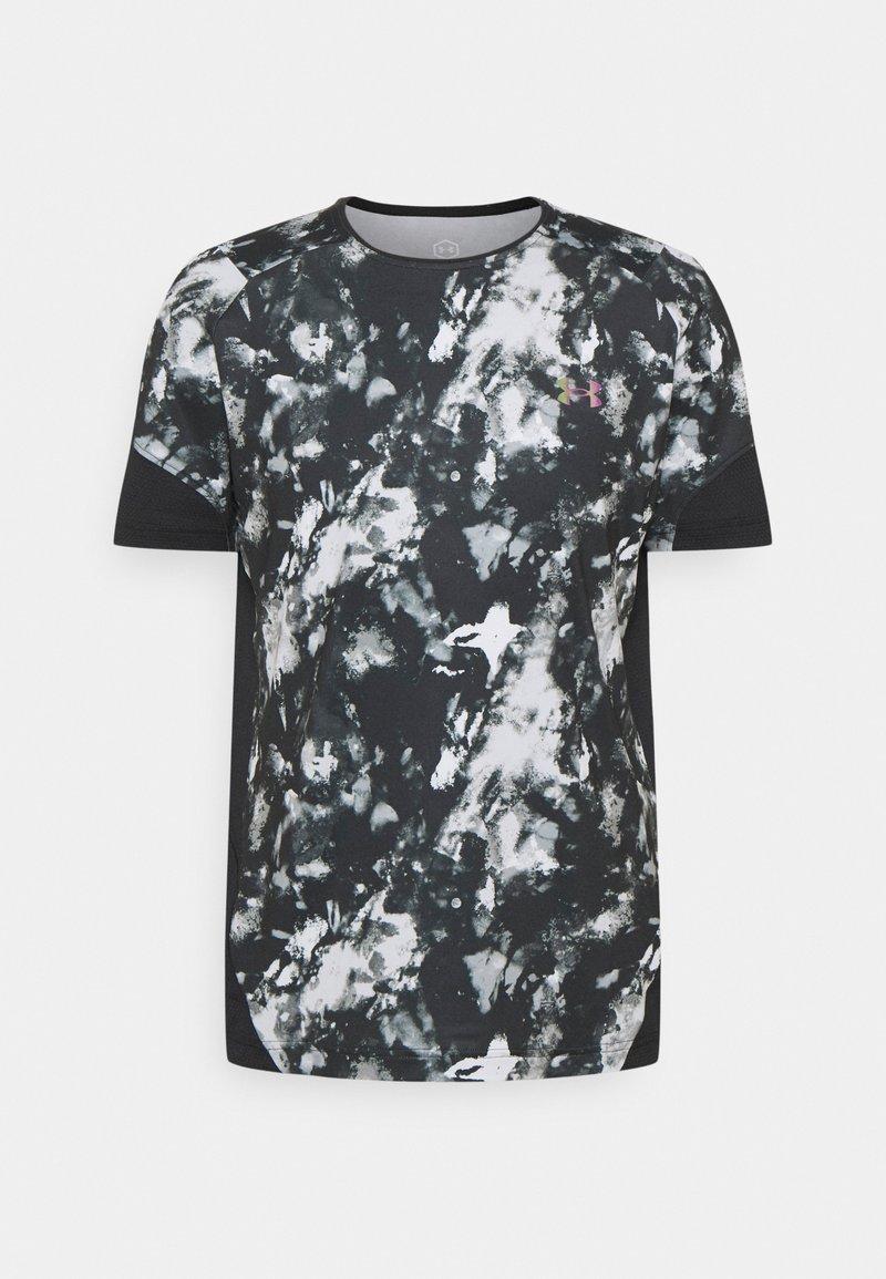 Under Armour - RUSH 2.0 PRINT - Print T-shirt - black