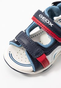Geox - AGASIM BOY - Walking sandals - navy/dark sky - 2