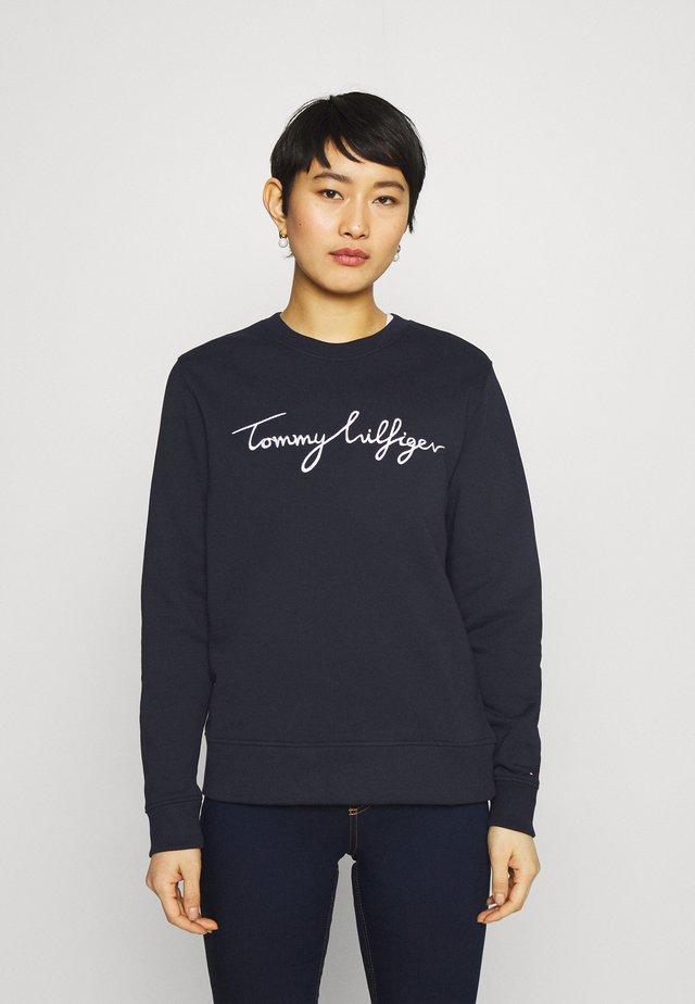 REGULAR GRAPHIC - Sweater - blue