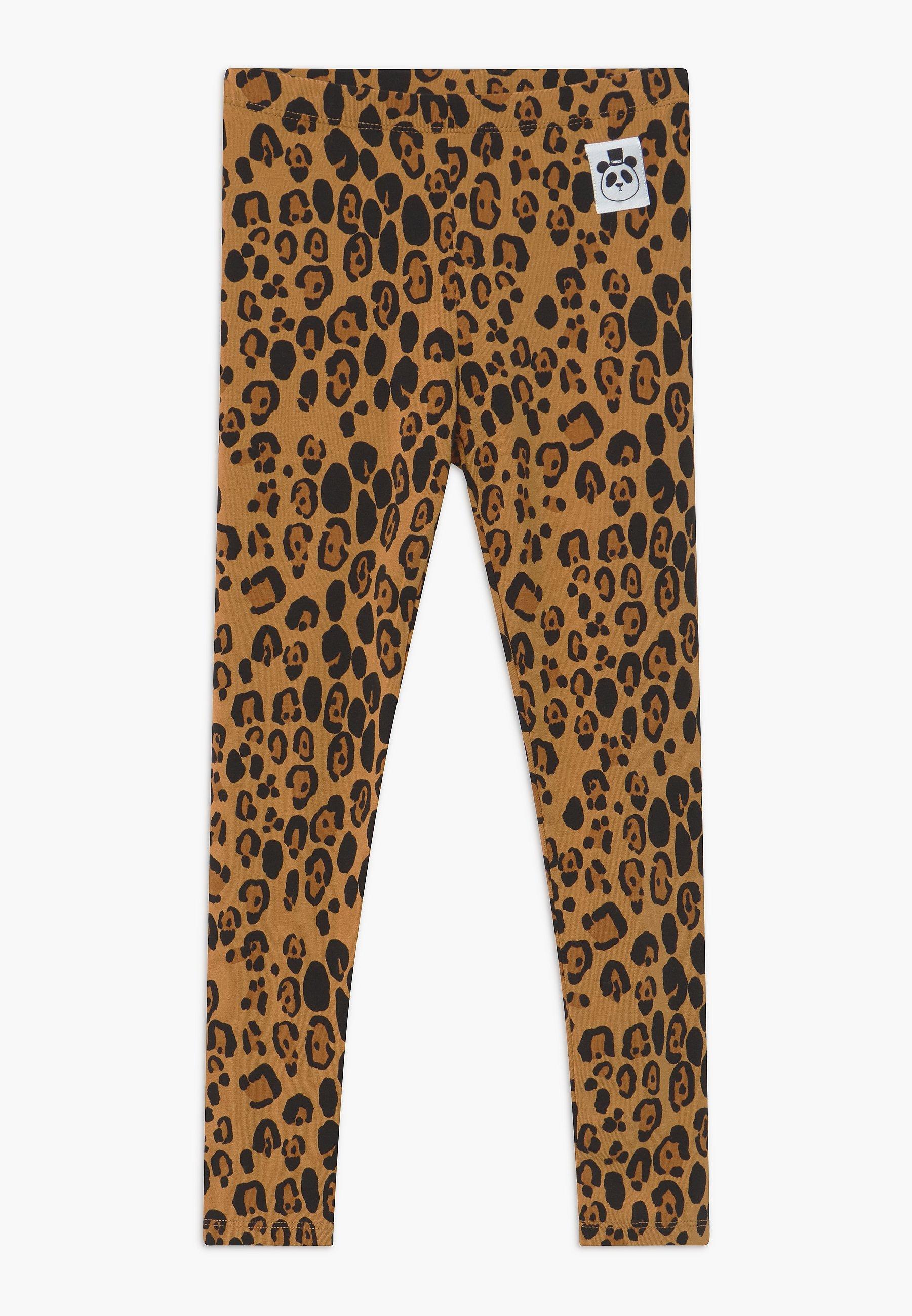 Kids BABY BASIC LEOPARD UNISEX - Leggings - Trousers