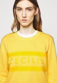 CECILIE copenhagen - MANILA - Sweatshirt - lemon - 3