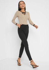 ORSAY - HIGH WAIST - Trousers - schwarz - 1