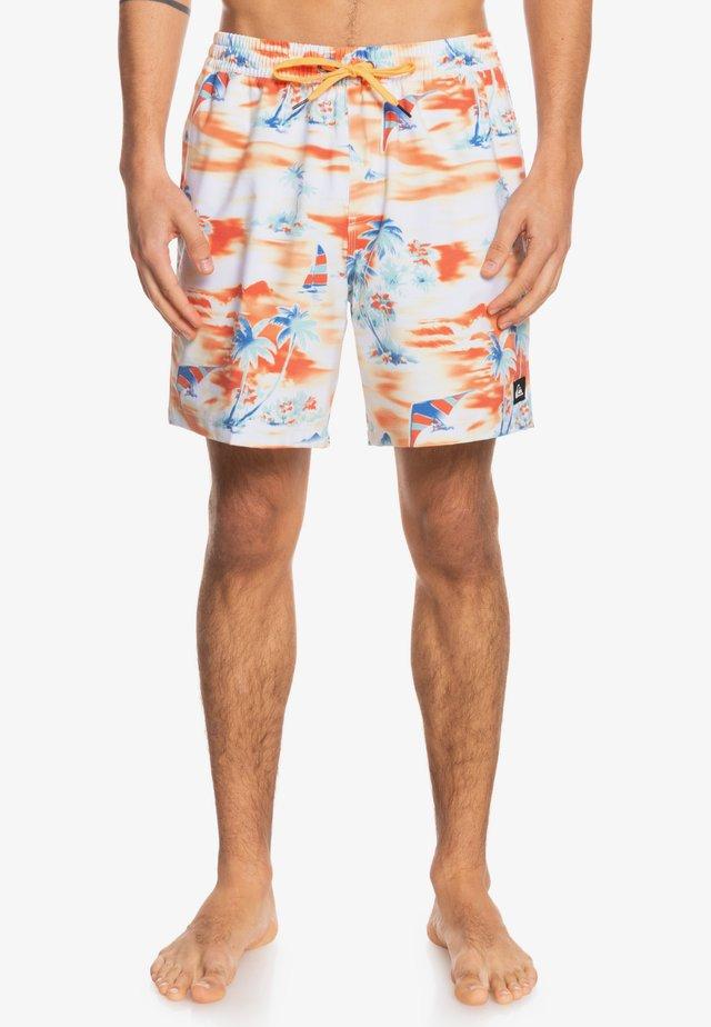 Swimming shorts - orange pop island hopper
