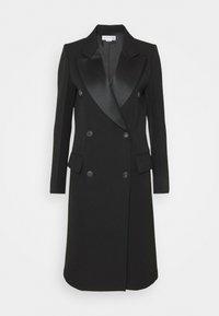 Victoria Beckham - DOUBLE BREASTED TUXEDO COAT - Klasický kabát - black - 7