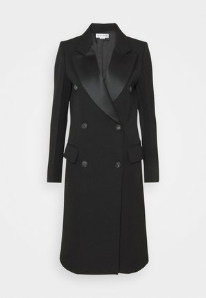 DOUBLE BREASTED TUXEDO COAT - Klassinen takki - black