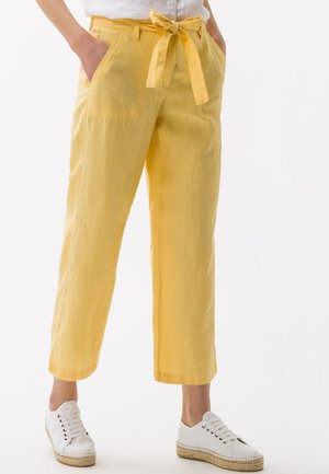 STYLE MAINE - Trousers - yellow