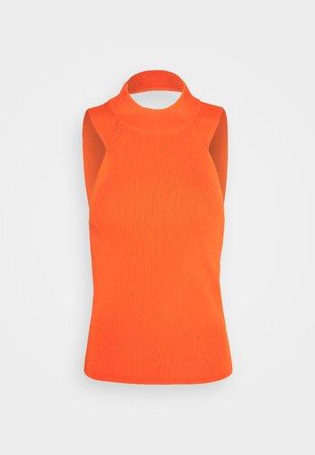 AVA TANK - Print T-shirt - orangeade