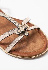 Anna Field - T-bar sandals - gold - 2