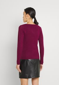 Fashion Union - ELISHA - Cardigan - burgundy - 2