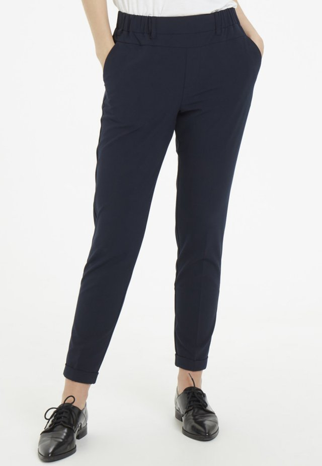NANCI JILLIAN - Pantaloni - dark blue