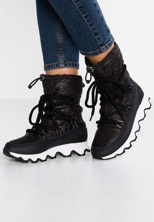 KINETIC - Zimní obuv - black/white
