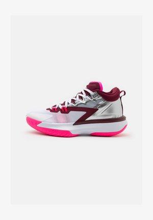 ZION 1 - Basketbalschoenen - dark beetroot/metallic red bronze/sweet beet/sesame/pink blast/grey fog