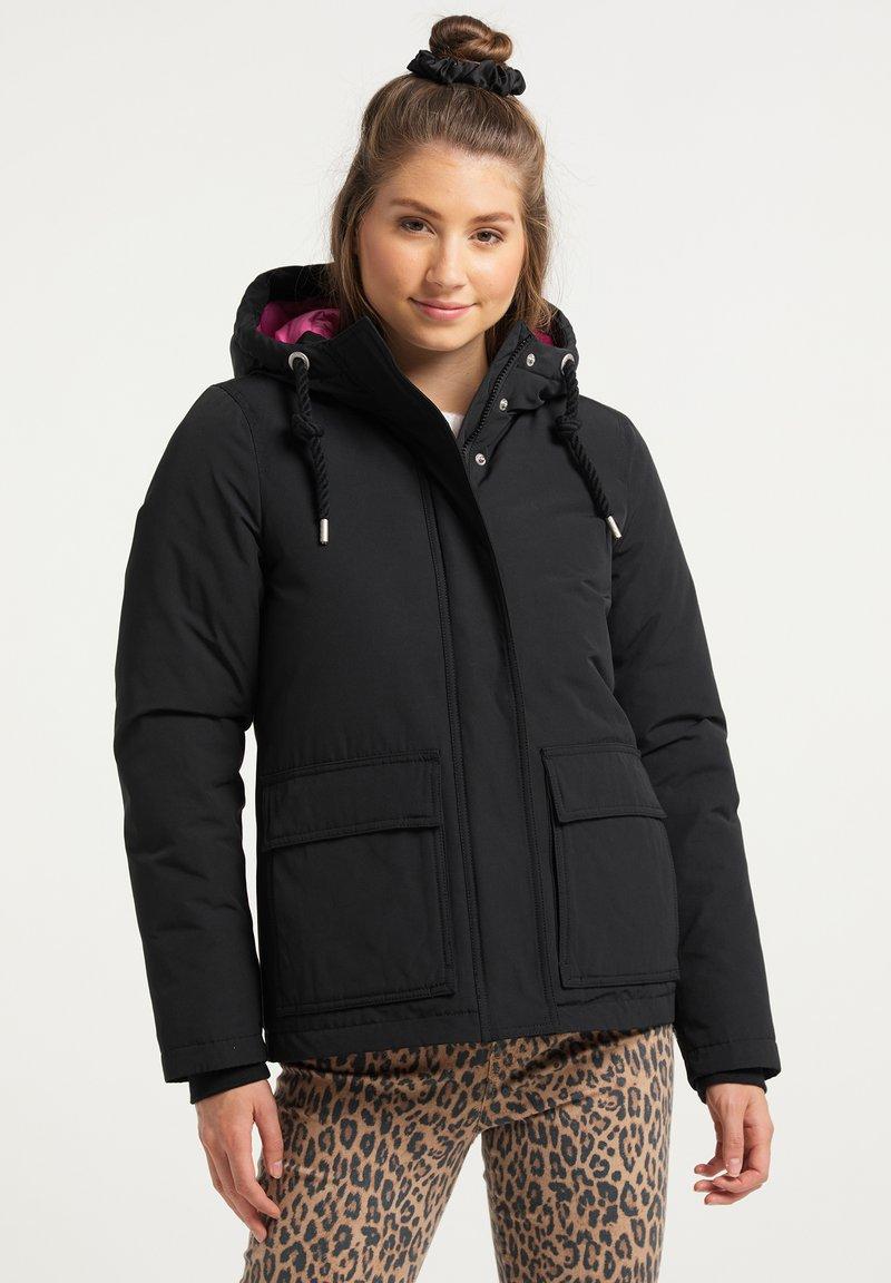 myMo - Winter jacket - schwarz