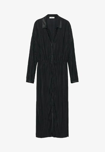 Skjortekjole - černá