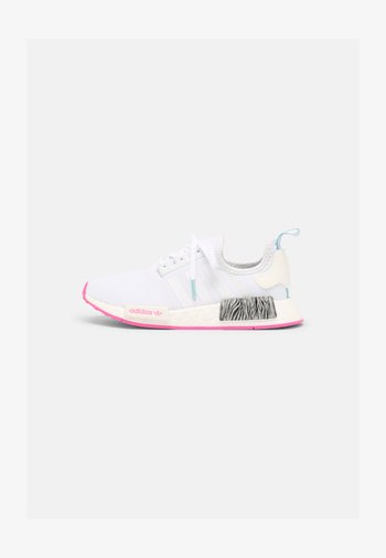 NMD R1 J UNISEX - Trainers - white/screaming pink