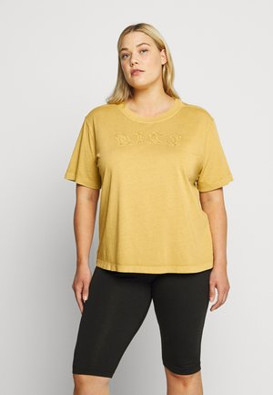 WASH TOP PLUS - T-shirts med print - infinite gold