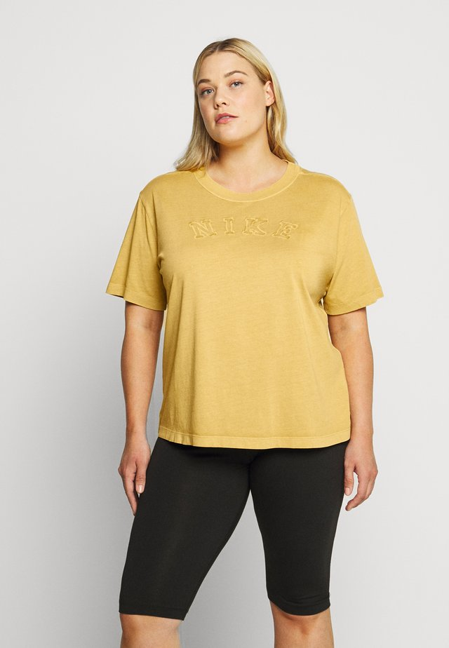 WASH TOP PLUS - T-shirt imprimé - infinite gold