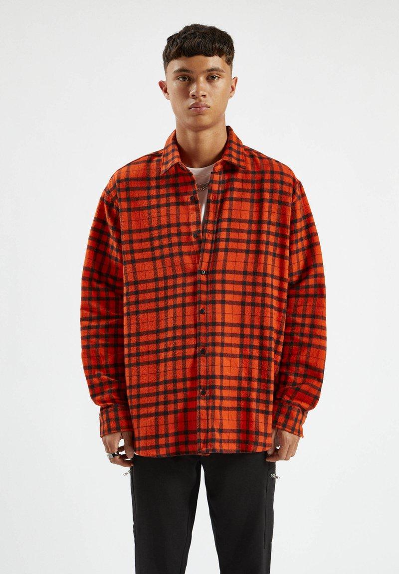 PULL&BEAR - Koszula - orange