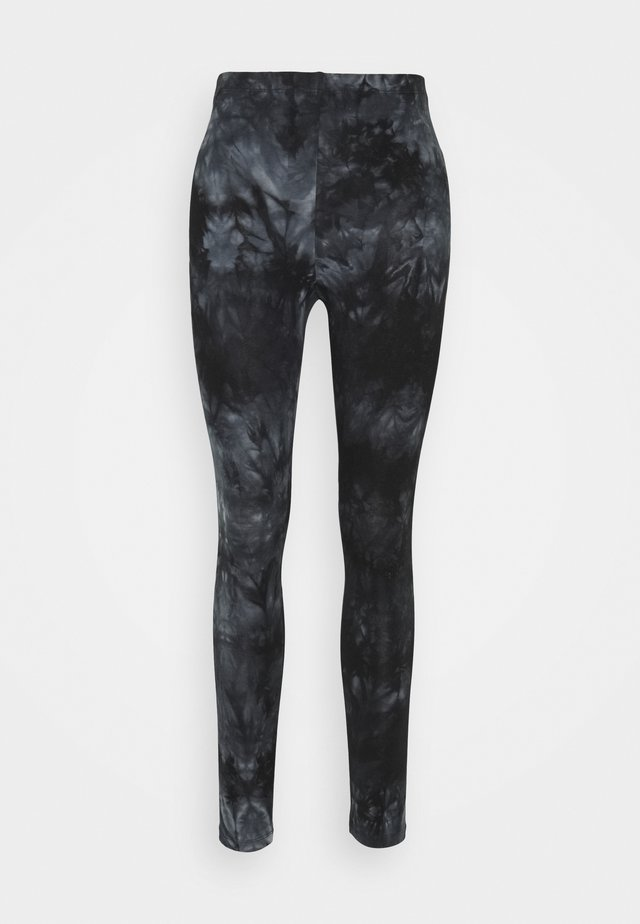 VMBINE BATIK - Leggingsit - black/grey