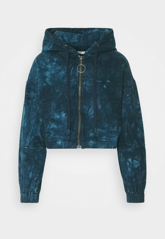 LADIES JACKET TIE DYE - Summer jacket - blue