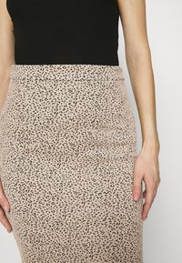 Banana Republic - PENCIL - Pencil skirt - neutral leopard - 5
