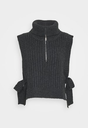 HAFJELL - Strickpullover - charcoal