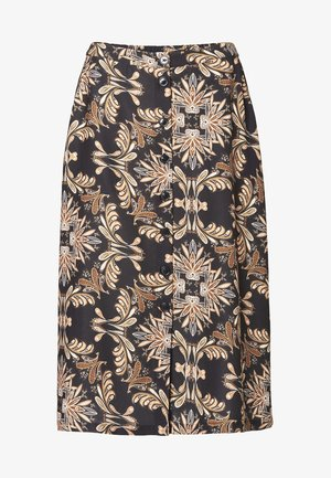 JENNIFER - A-line skirt - black