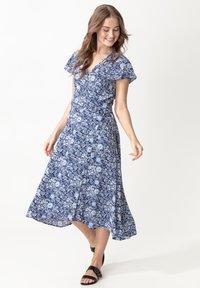 Indiska - EDIT - Denní šaty - blue - 1