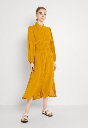 YASFLIKO MIDI DRESS - Shirt dress - inca gold