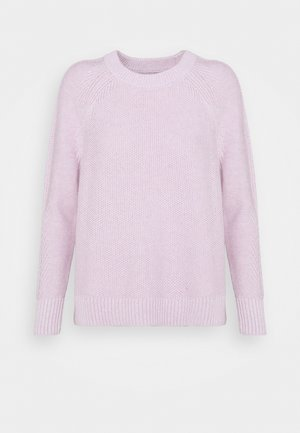 TEXTURED CREW  - Neule - lilac