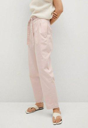 Chinos - pastel pink