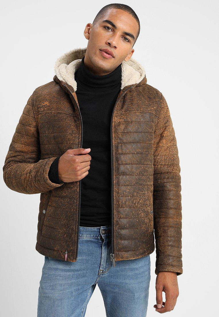 Men HEMINGWAY - Leather jacket