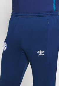 Umbro - FC SCHALKE 04 TAPERED PANT - Squadra - navy/blue sapphire - 4
