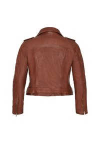 No.1 by Ox - Leather jacket - dark cognac - 5