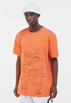 NARUTO - T-shirt con stampa - orange
